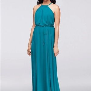 David's Bridal Soft Mesh BridesMaid Dress Size 2